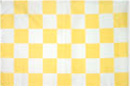 Yellow Checkered Whip Flag